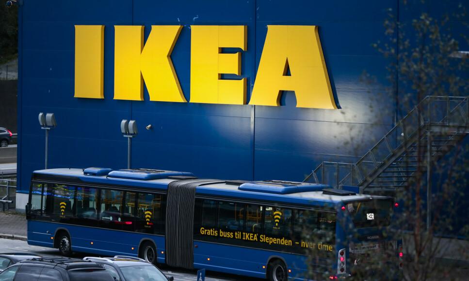 VINNEREN: Ikea er den mest populære merkevaren blant norske kvinner, ifølge en undersøkelse fra YouGov. Foto: Lise Åserud/NTB Scanpix