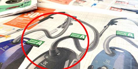 image: Støvsugermerking erklært ugyldig