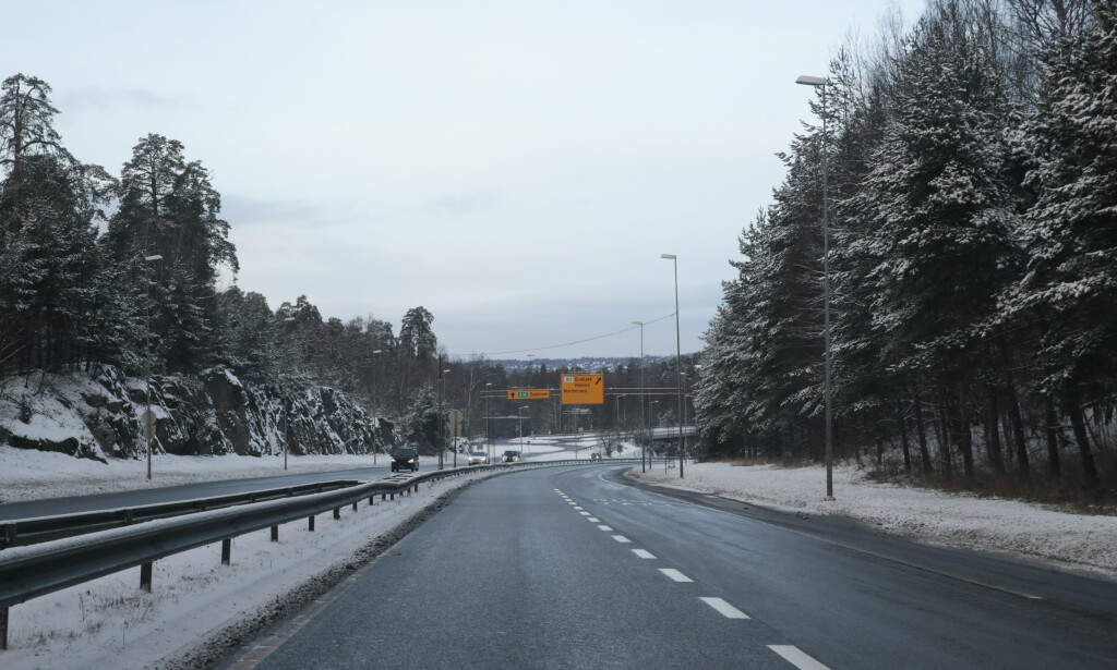 TRAFIKKFARLIG: Vegtilsynet har avdekket farlige feil på veirekkverk. Foto: Lise Åserud/NTB scanpix