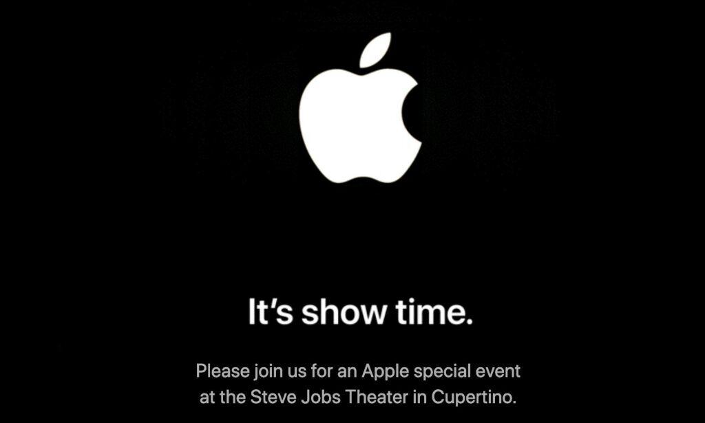 image: Apple bekrefter: - It's show time