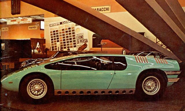 INSPIRASJON: Denne konseptbilen ble sarten på Ital design som finnes fortsatt i dag. Foto: Arkiv