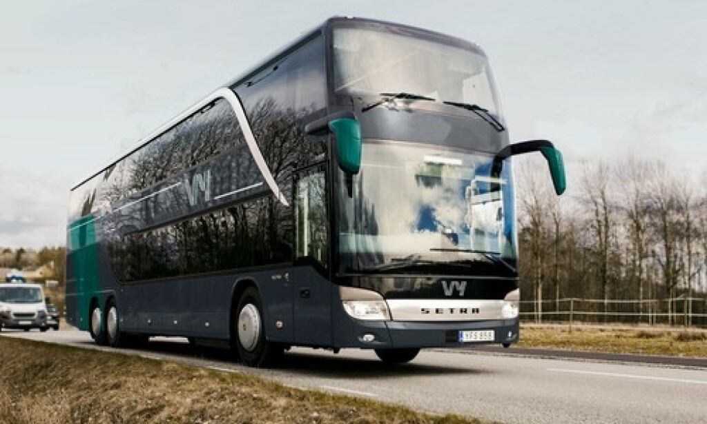 Slik blir det nye VY-bussen. Foto: NSB/Snøhetta