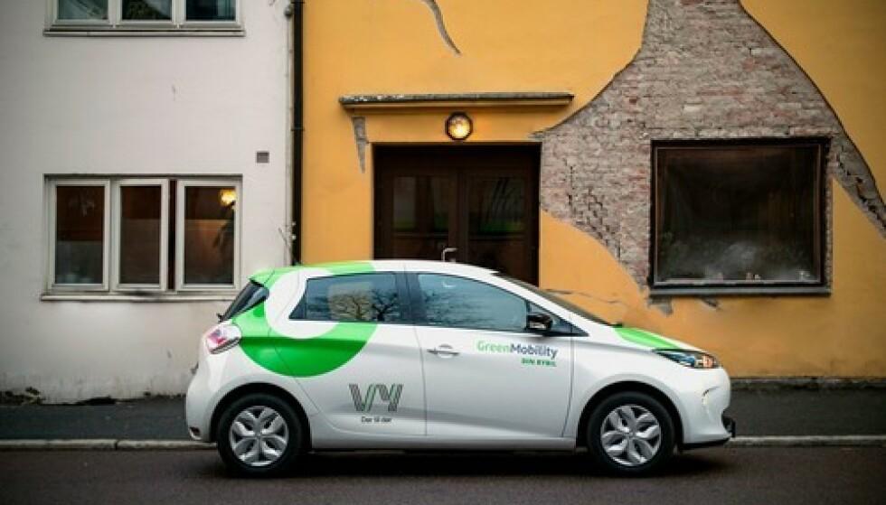 NSBs, snart VY, bybil får ny logo. Foto: NSB/Snøhetta