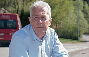 SESONG FOR STEINSPRUT: Kommunikasjonssjef Arne Voll i Gjensidige forteller at vi er inne i årets verste periode for steinsprutskader.Foto: Gjensidige