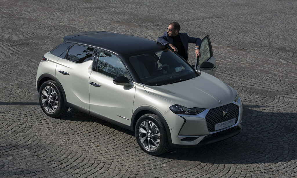 ELEKTRISK FOLKEBIL: Med en rekkevidde på 320 kilometer og en pris fra 312.000 kroner har DS3 Crossback E-Tense mye av det som skal til for å bli en suksess i Norge. Som første norske medium har vi prøvekjørt bilen. Foto: DS