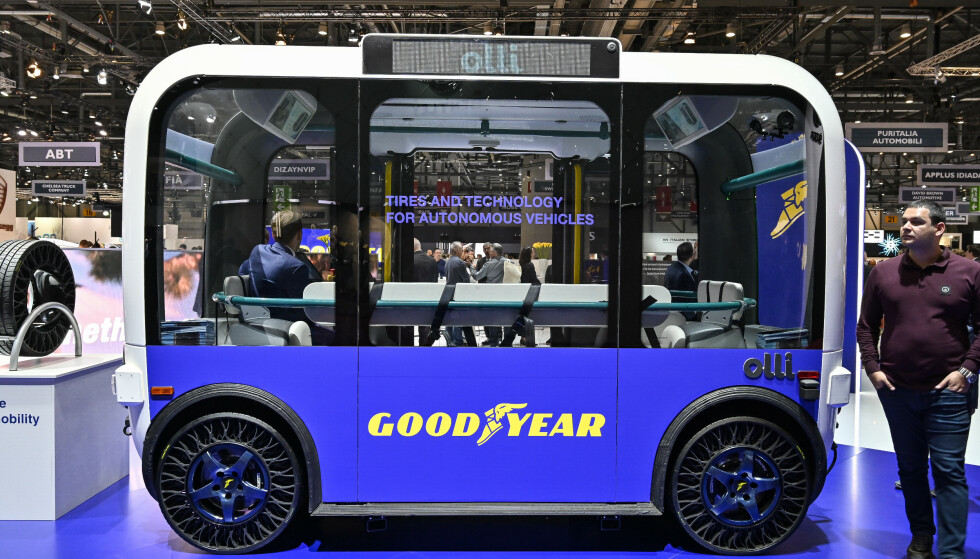 TIL HIMMELS: Slik ser Goodyear for seg framtida: Ei vogn som kan kan gå til lands og opp i skyene. Foto: Jamieson Pothecary