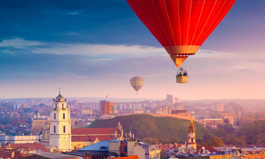 BILLIGSTE STORBY: Vilnius i Litauen utpekes som billigste storby for en storbyferie i år, ifølge en fersk prisundersøkelse. Men Beograd, Warszawa, Istanbul og Bucuresti er heller ikke mye dyrere. Foto: Shutterstock/NTB scanpix