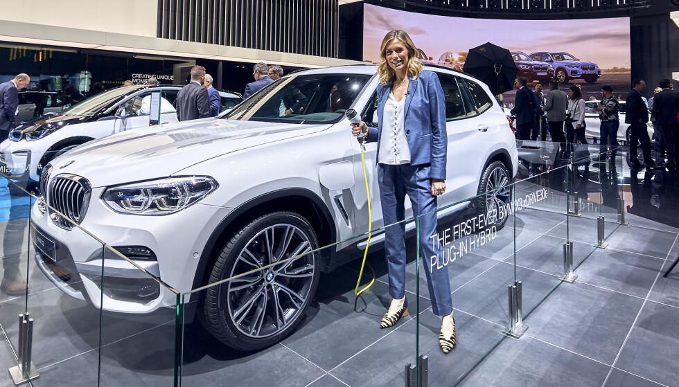 HYBRID: Ventetiden har vært lang. Nå kommer BMW X3 som ladbar hybrid - X3 xDrive 30e. Foto: BMW