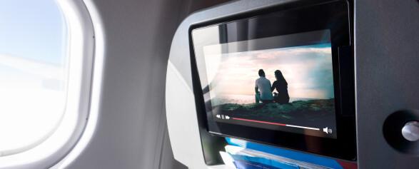 Fly-TV med trådløse hodetelefoner? Se hvordan
