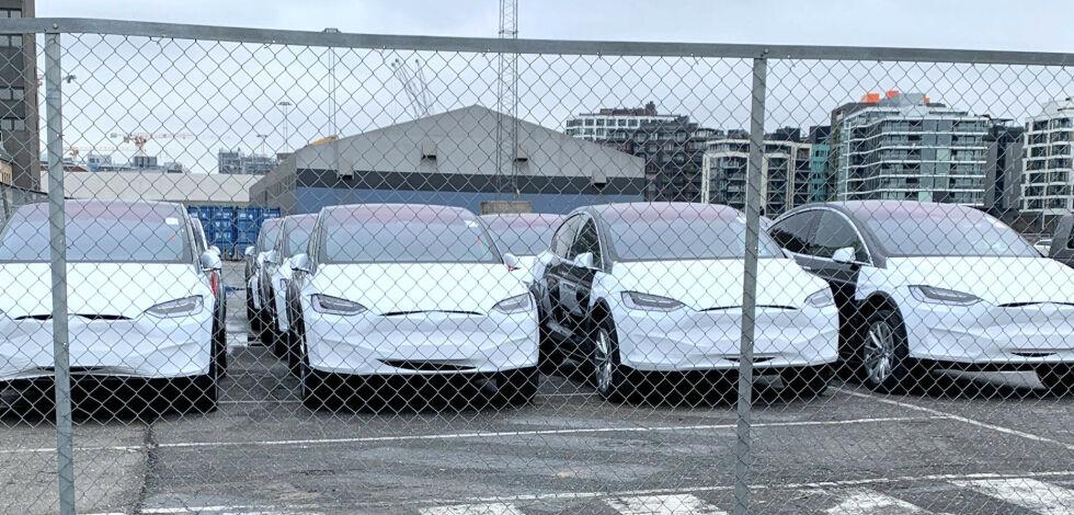 image: - Ekstremt mange biler