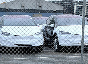 image: Sjekk den enorme Tesla-leveransen