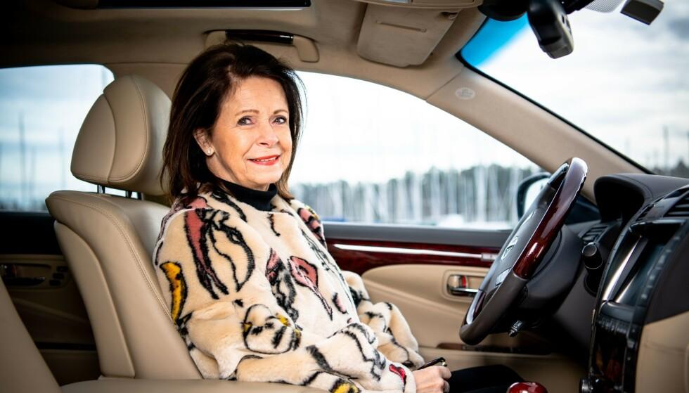 SMILER: Grete legger stor vekt på service, og har til gode å bli skuffet som Lexus-kunde.