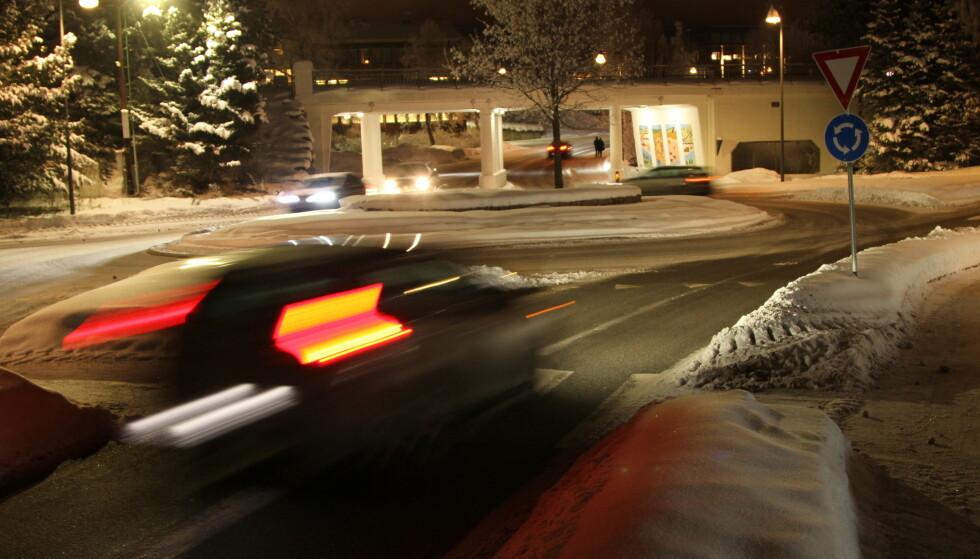 BRUKER IKKE BLINKLYS: Bilister som ikke bruker blinklys, irriterer oss aller mest i trafikken. Foto: Rune Korsvoll