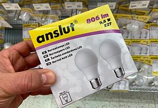 Her kjøper du LED-pærene billigst