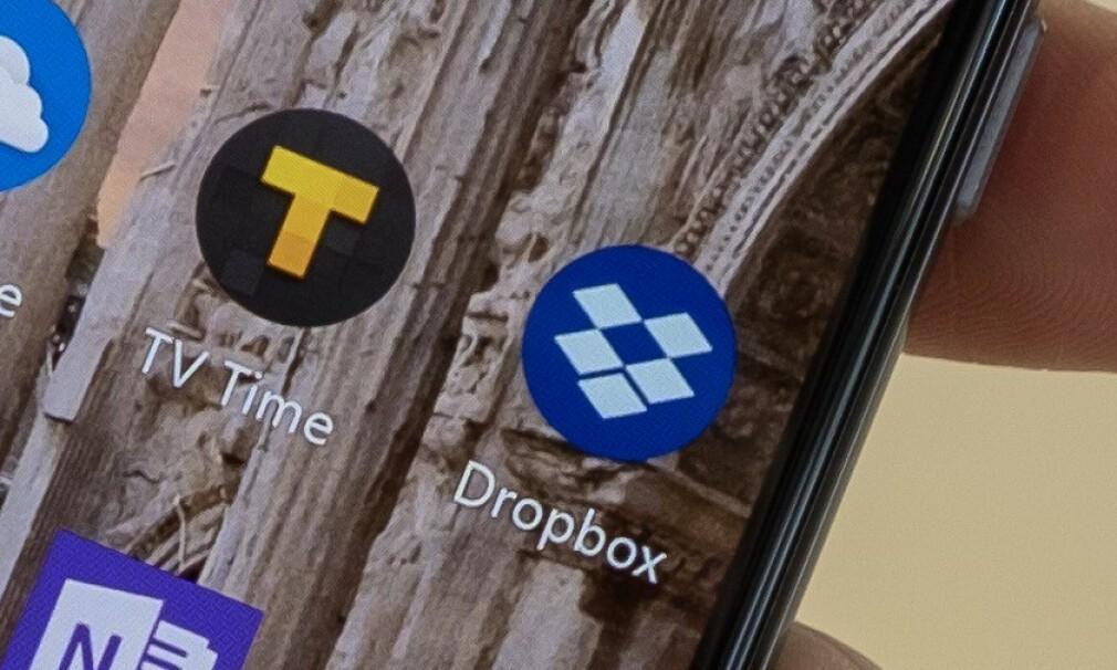 DROPBOX: Som Dropbox-bruker bør du være obs på denne endringen. Foto: Martin Kynningsrud Størbu.