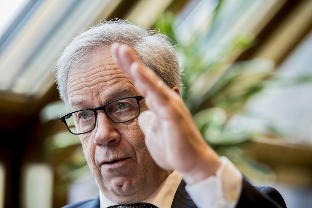 OPPGANG: Sentralbanksjef Øystein Olsen varslet torsdag at Norges Bank setter opp styringsrenten. Forrige renteøkning var i september 2018. Foto: Vidar Ruud/NTB Scanpix.