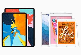 Velg riktig iPad