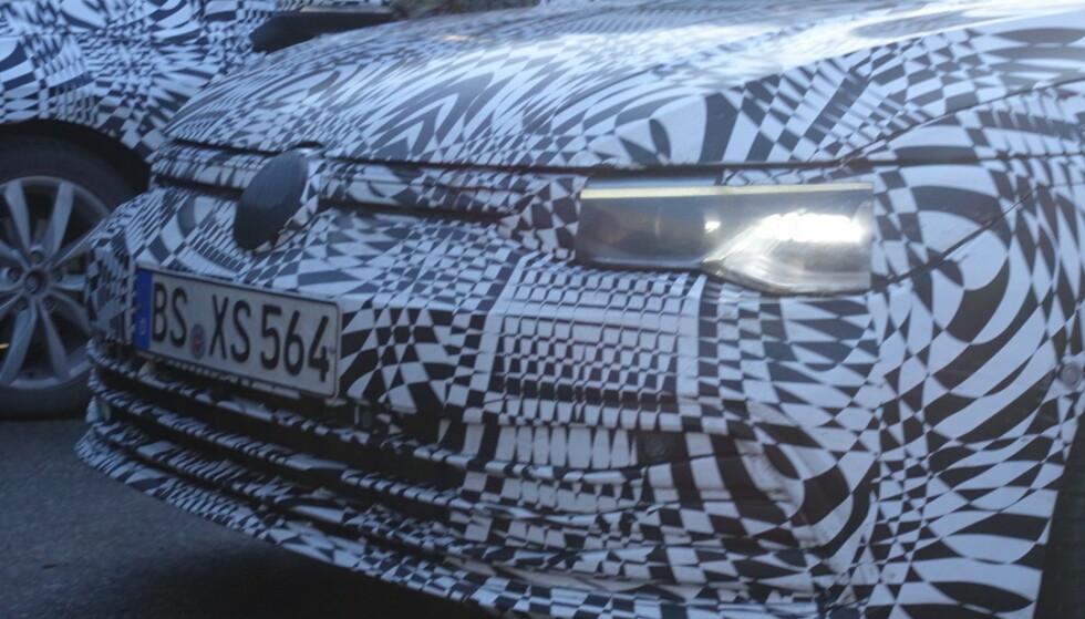 VW GOLF 8? Alt ved de folierte bilene tilsier at det er snakk om neste generasjon Golf. Foto: Privat
