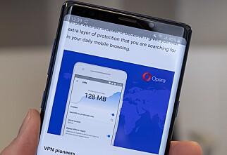 Lover trygg surfing på Android-mobiler