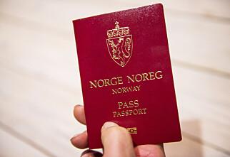Her kan de kreve pass på flyreisen i Norge