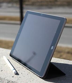 BILLIGST: iPad uten noe mer i navnet er per dags dato Apples billigste nettbrett. Foto: Kirsti Østvang