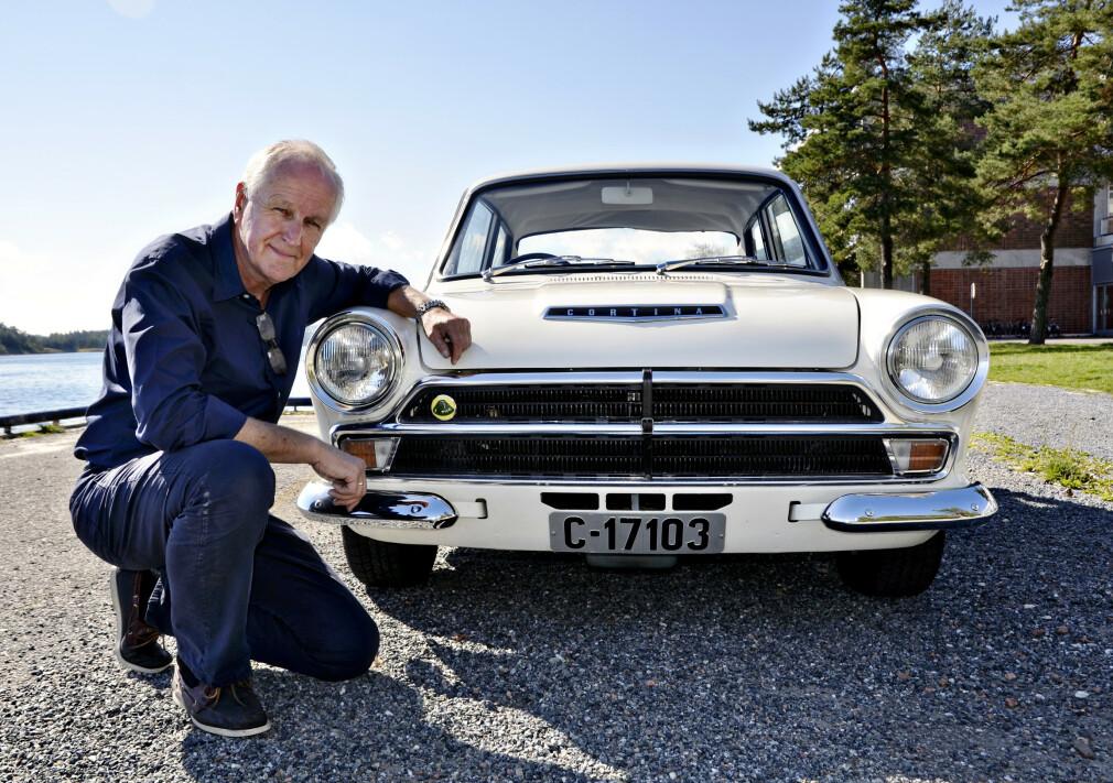 SLIK DEN VAR: Rally-klassiker Eier Holm Jacob Matheson har  fått bilen tilbake i original Gruppe 2-spesifikasjon. Foto: Stein Inge Stølen