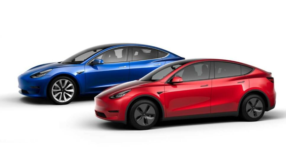 FÅR HENGERFESTE: Tesla Model 3 og Model Y får hengerfeste. Det melder svensk elbilavis. Foto: Tesla