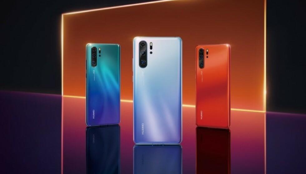 Huawei P30 Pro: Kinesiske Huawei har ikke vært spesielt flinke til å unngå lekkasjer i forkant av P30 Pro-lanseringen. Foto: Evleaks/Twitter