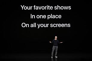 ALT I ETT: I Apples nye TV-app skal du kunne se serier fra så vel HBO som Apple. Foto: NTB Scanpix