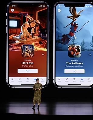 EKSLUSIVE SPILL: Apples nye Arcade-tjeneste vil ha spill du ikke finner på noen andre plattformer. Foto: NTB Scanpix