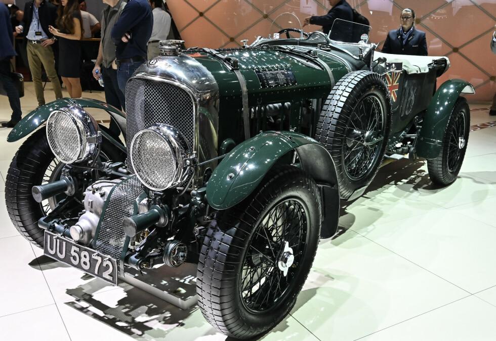 BENTLEY BLOWER: Kompressor-matet Le Mans vinner fra 1930. Foto: Jamieson Pothecary