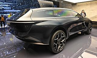 FRA EN ANNEN PLANET? Om Lagonda leverer som lovet, kommer nye Lagonda til å skape like mye oppmerksomhet som første generasjons Lagonda, over 40 år senere! Foto: Jamieson Pothecary