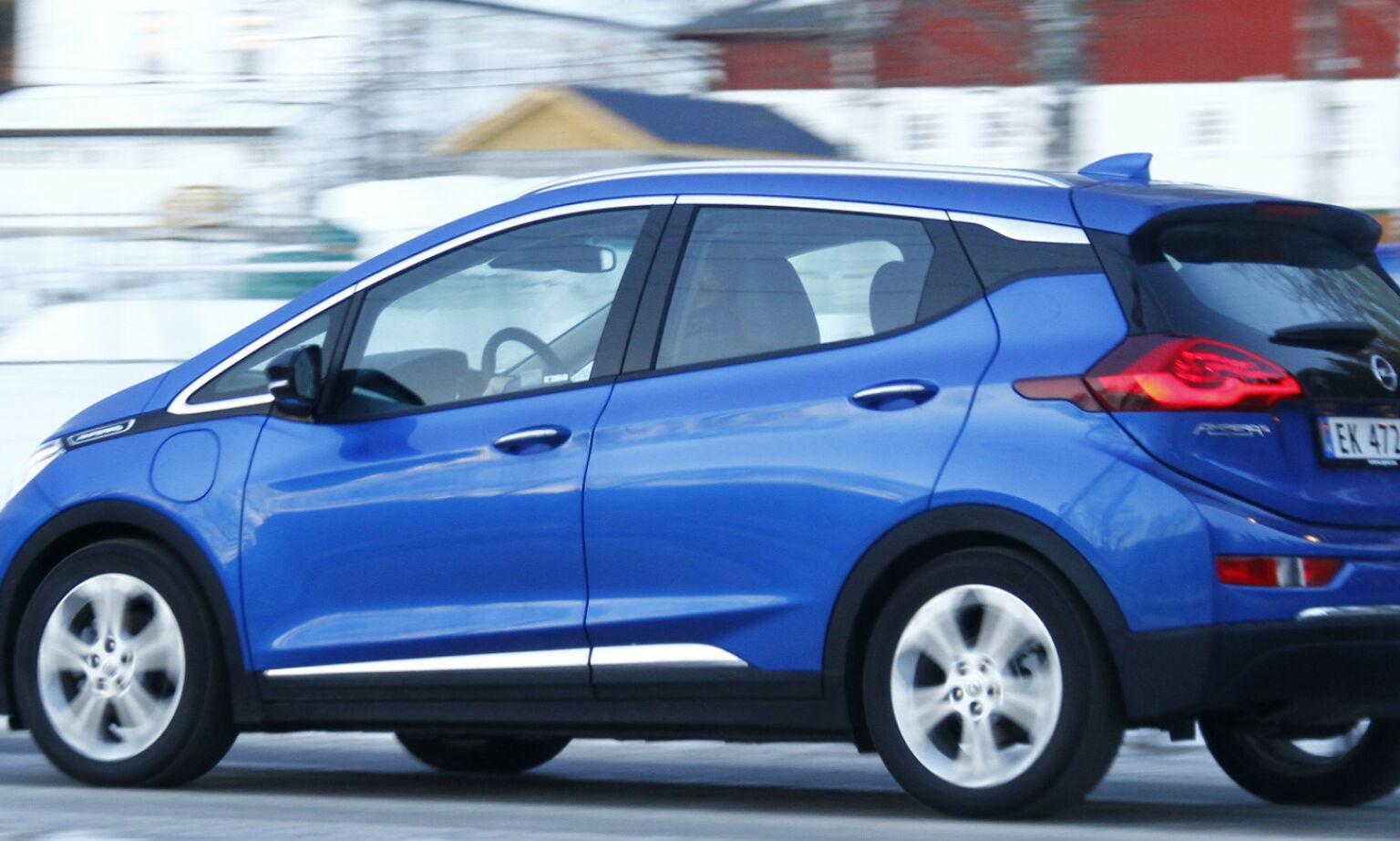 image: Opel sliter med elbilen «Årets bil» i Norge