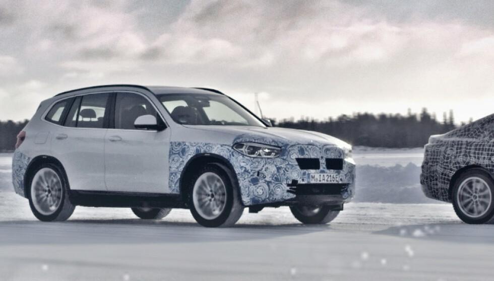 - BMW-elbilen får minst 60 mil rekkevidde