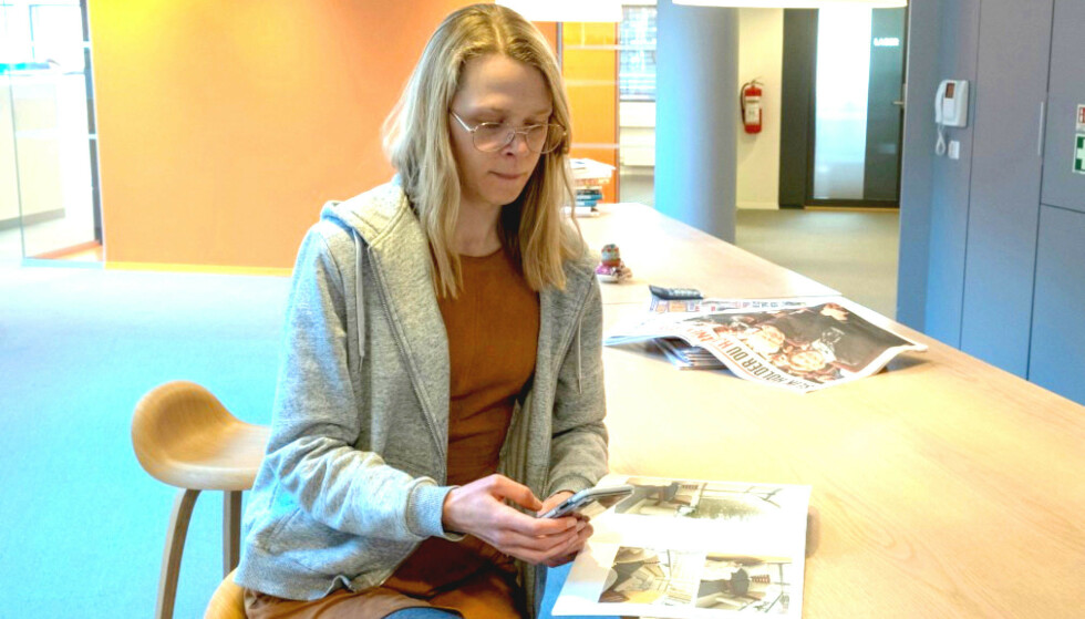 <strong>FØRSTEGANGSKJØPER:</strong> Dinside-journalist Eilin Lindvoll kjøpte nettopp sin første bolig ved å gi bud direkte til selger. Foto: Martin Kynningsrud Størbu.