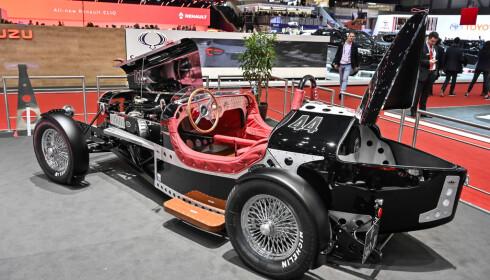 RÅLEKKER: En kulere elbil en denne fra DeVinci tror ikke vi finnes. FOTO: Jamieson Pothecary