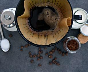 image: Test avslører hva kaffefilter gjør med kaffen din