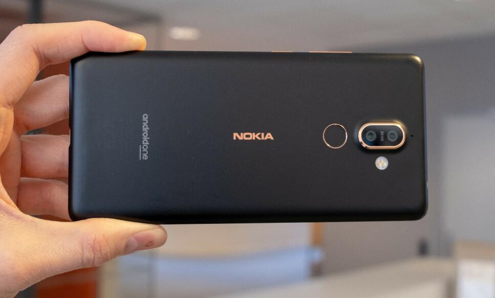 SENDTE DATA TIL KINA: HMD Global hevder at det kun er Nokia 7 Plus-enheter som er rammet av feilen. Det viser seg nå at det kan gjelde flere modeller. Foto: Martin Kynningsrud Størbu.