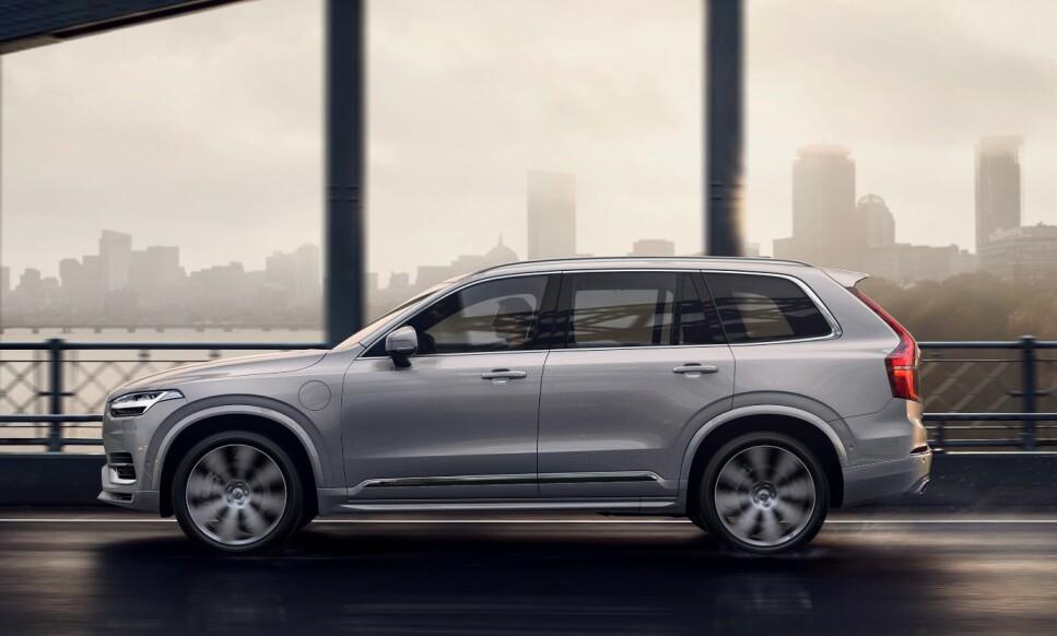 I 100: Volvo har innsett at dagens modell XC90 (bildet) blir for snau for de største markedene. Derfor er de i ferd med tenke enda større... Foto: VOLVO