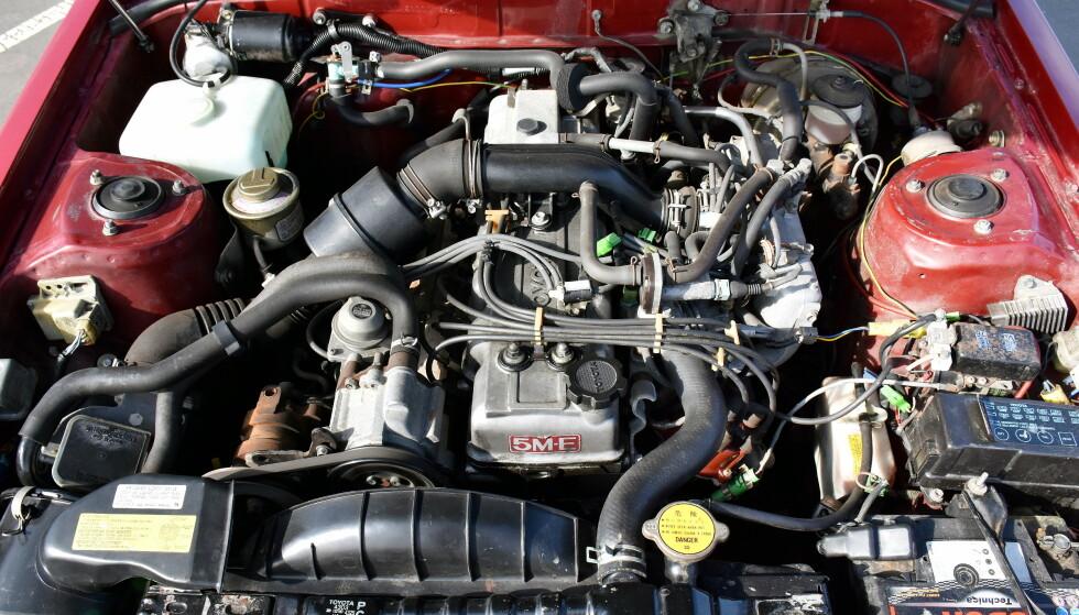 EVIGHETSMASKIN: Med kjededrift og elektronisk innsprøytning er 2,8-literen en svært driftssikker motor. Foto: Stein Inge Stølen