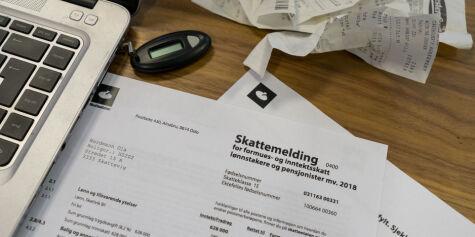 image: Nå kan du sjekke skattemeldingen