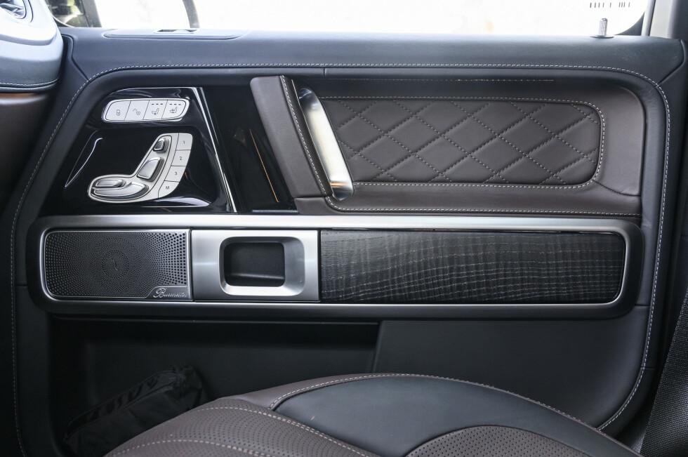 NYDELIG: Burmeister stereopakken ga litt skuffende lyd. Lytt heller til motoren. Foto: Jamieson Pothecary