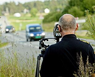 image: I dag er det mange farts-kontroller i hele landet