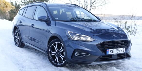Ford Focus 1,5 Active STV: Stor og stillegående