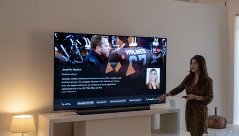 Smarthuset styres fra TV-en. Foto: Martin Kynningsrud Størbu