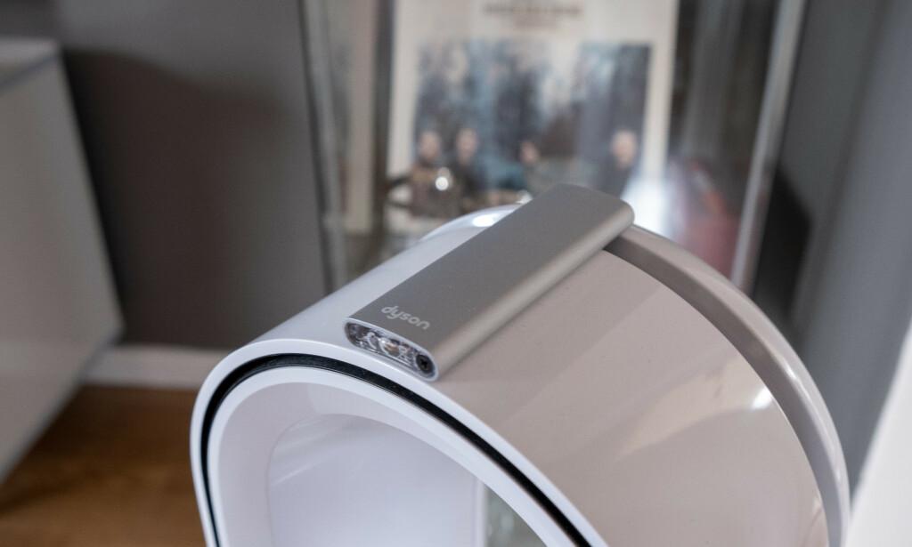 image: Denne renser luften og varmer opp soverommet på et blunk