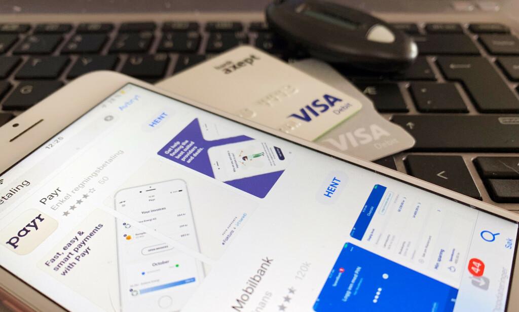 IKKE LENGER KUNDE I EN BANK? PSD2 åpner for både nye aktører og tjenester. Foto: Berit B. Njarga