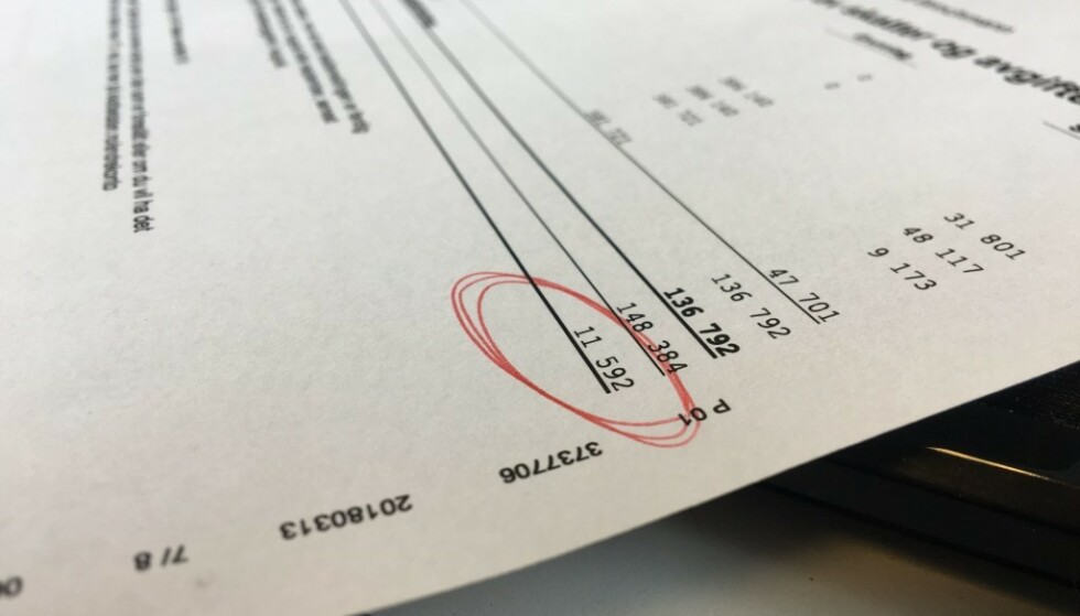 PENGER IGJEN: Dersom det endelige skatteoppgjøret viser at du får penger igjen på skatten, får du de relativt fort inn på konto. Foto: Berit B. Njarga.
