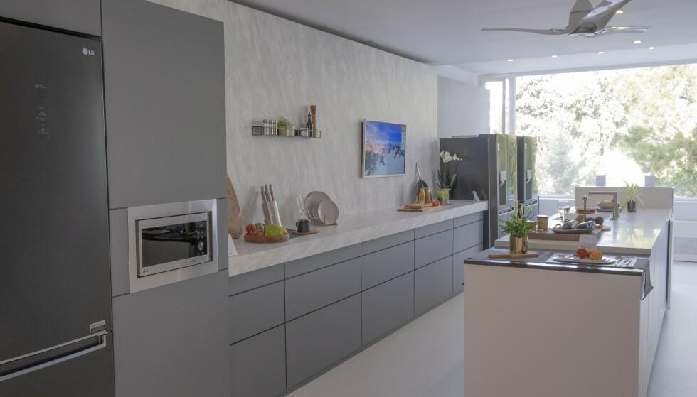 LG House: LG viser frem sin visjon for den smarte fremtiden. Foto: Martin Kynningsrud Størbu