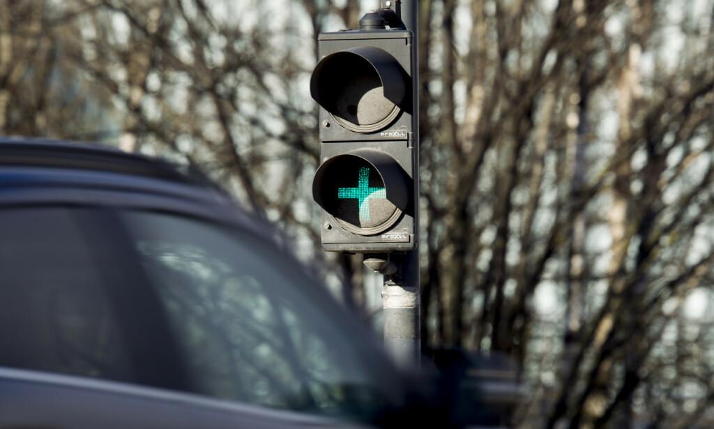 LYSENE SLUKKES: Lyssignalene som har gitt informasjon om passeringer og betaling, slukkes fra lørdag 6. april kl 08.00. Heretter må du logge inn for å sjekke status på Autopass-avtalen din. Foto: NTB scanpix